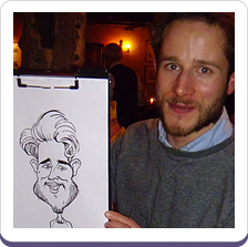 Wedding Caricatures On The Spot