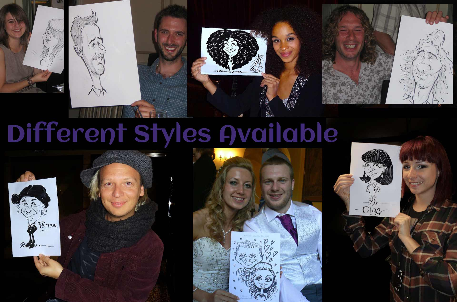 Wedding Caricaturists