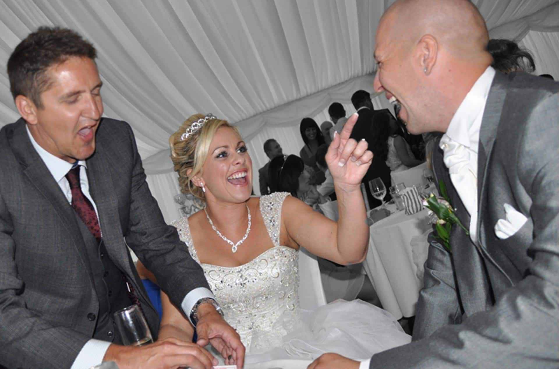 Wedding magician hire