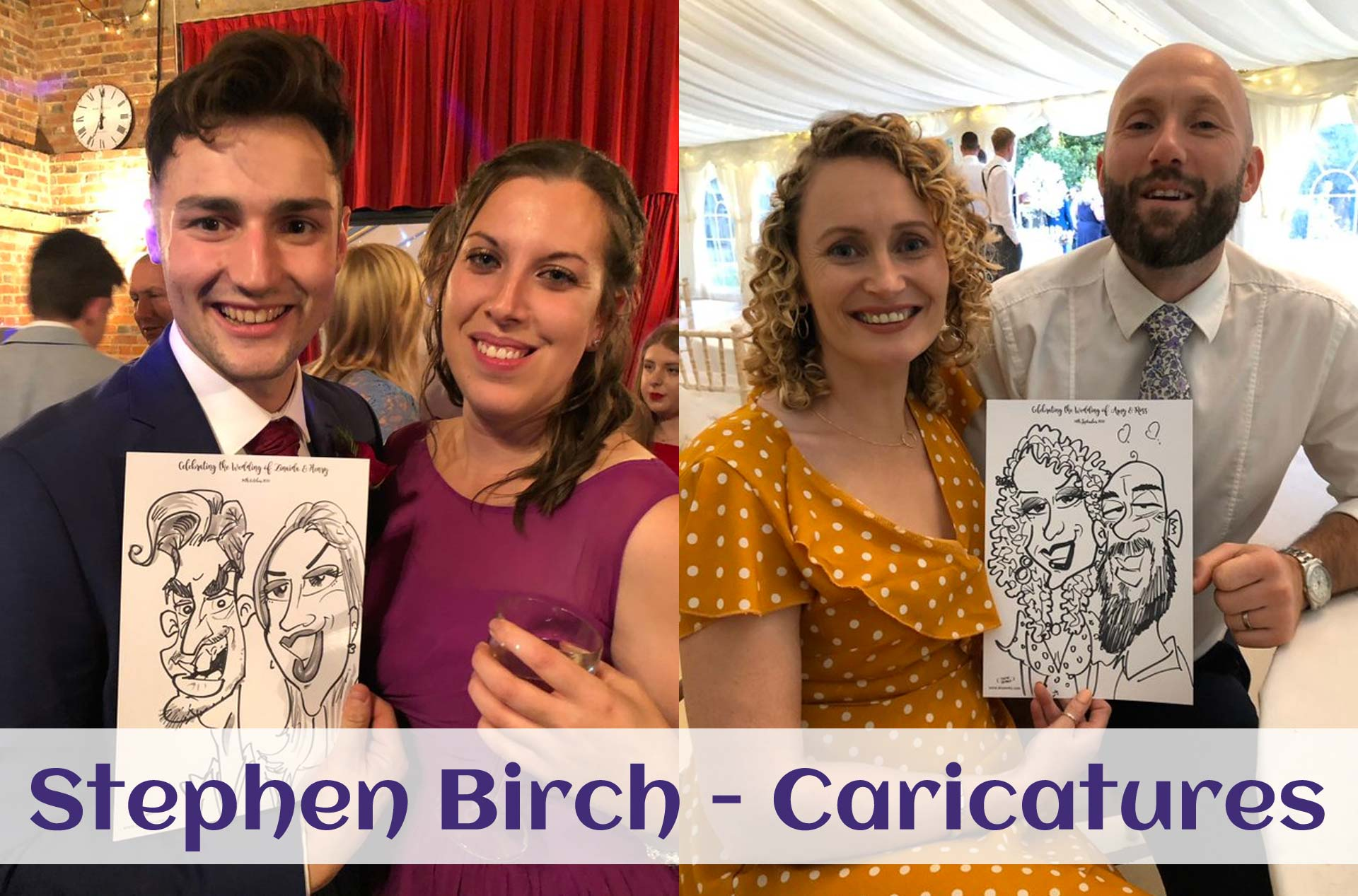 Stephen Caricatures