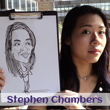 Stephen Chambers Caricatures