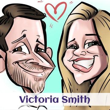 Victorias caricatures