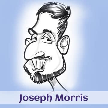 Joseph Morris caricatures