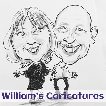 Williams caricatures
