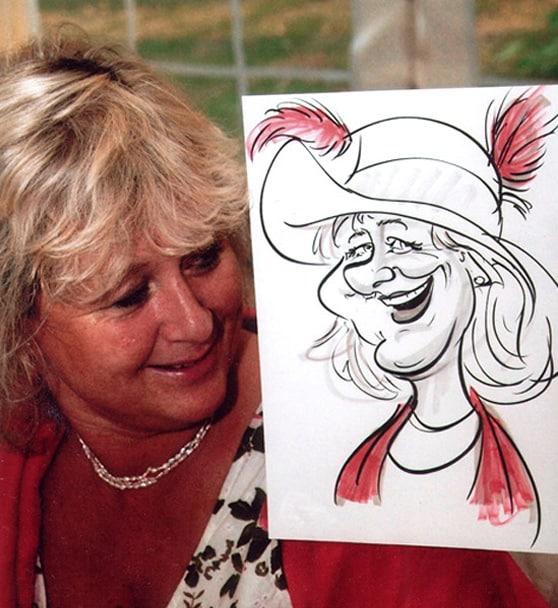 wedding caricaturist Hire